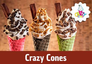 Crazy Cones