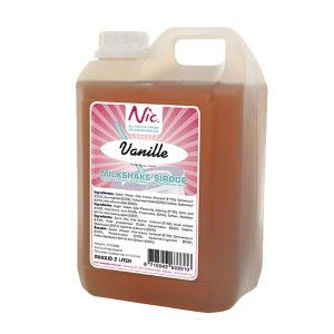 Shakesirups vanille